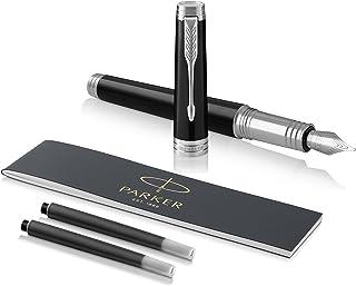 PARKER 派克 Premier 钢笔,深铬黑色漆面,黑色笔芯