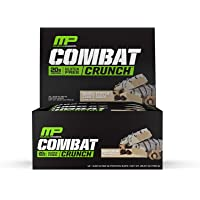 Muscle Pharm MusclePharm Combat Crunch Protein Bar, Multi-La…