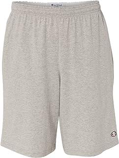 """Champion 8180 男式 9"""" 内缝棉针织短裤带口袋"""