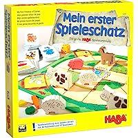 Haba 4278 Mein erster Spieleschatz 我的游戏宝藏 大型Haba游戏合集 10个棋盘/记…