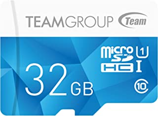 TEAMGROUP 存储卡 MicroSDHC/XC 带适配器Color Card I  32GB
