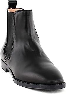 Stuart Weitzman   Atom Leather Chelsea 短靴   黑色