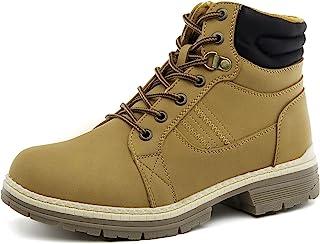 女士徒步踝工装靴