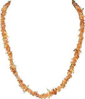 Zenergy Gems 硒天然宝石碎片项链 + 硒气蓬起心形充电器 [ 包括 ]