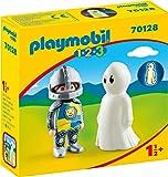Playmobil 70128 1.2.3 带鬼魂的儿童骑士玩具,适合18个月以上的人群