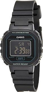 Casio 卡西欧 #LA20WH-1B 女式黑色计时闹钟 LCD 数字手表