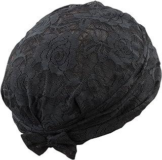 三喜工业 时尚发帽 优雅蕾丝 黑色