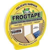 FrogTape精致表面绘画胶带, 0.94 in. x 60 yd. Roll, 黄色 (280220)