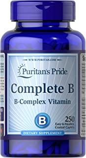 Puritan's Pride 普丽普莱 维生素B族复合物补充剂,250粒