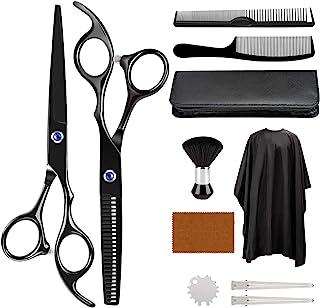 理发套件,ULG 11 件理发剪刀套装,专业理发套装,理发剪刀,理发剪,理发剪,理发师剪,理发师剪套装,理发师,家庭使用
