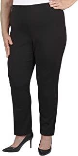 Jules & Leopold 女式加大码修身 Techno 绉纱裤