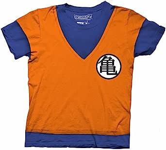 七龙珠 Z 龙珠 Z Goku 服装角色扮演衬衫