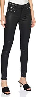 Morgan 女士 Pantalon Simili 拉链自行车休闲裤