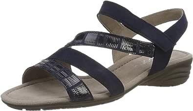 Gabor 女式 Earl 踝带凉鞋