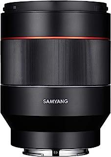 Samyang AF 50毫米 F1.4 自动对焦镜头,用于连接索尼E-Mount Black 8025