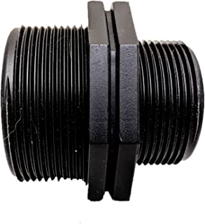 公头奶嘴接头适配器 - 八角形 - MNPT - SCHEDULE 80(2 英寸至 1.5 英寸短)