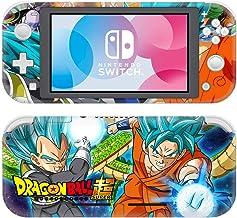 Adventure Games - Nintendo Switch LITE 乙烯基皮肤和屏幕保护膜套装 - 龙珠 Z,史诗 - Nintendo Switch LITE