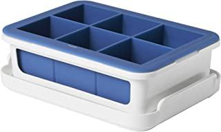 OXO 冰格大立方体盖,硅胶,蓝色