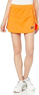 YONEX 尤尼克斯 女士 羽毛球 裙子 带衬裤 阳光橙色 O 26074