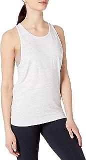 Amazon Brand - Core 10 女式比马棉露背系带工字背