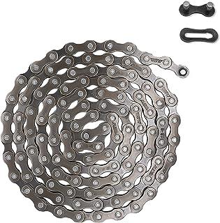 MOHEGIA 自行车链,6/7/8 速自行车链 1/2x3/32 英寸(116 个链环)