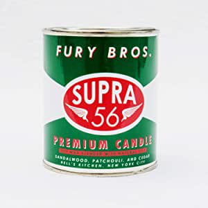 Fury Bros. 香薰蜡烛 绿色,红色,白色 Supra 56 B017MONSG4
