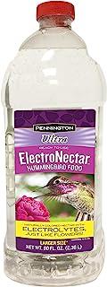 Pennington 蜂鸟 Ultra ElectroNectar 80 盎司(约 2.2 升)- 每个订单一 (1) 个可重新密封瓶