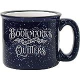 BadBananas - 图书馆礼物,书籍爱好者 - 书签 Are For Quitters - 425 g 趣味珐琅书…