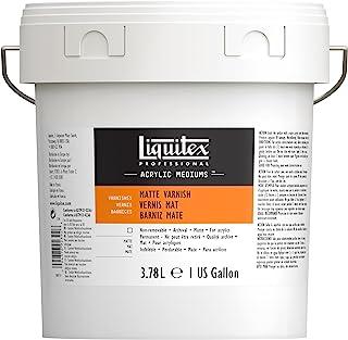 Liquitex Professional Matte Varnish, 128-oz (gallon)