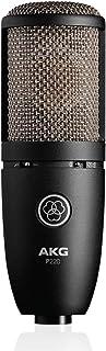 AKG P220 人声电容话筒,黑色(3101H00420)
