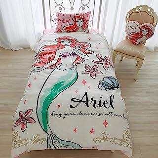 Disney 迪士尼 爱丽儿 被套3件套 枕套 床单 被罩 床褥用 单人床 SB-61
