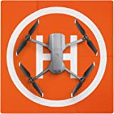 Symik Drone Landing Pad Elite 双面防水20英寸(50cm)便携式快速折叠Helipad,兼…