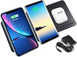 Charing Stations 3 in 1 wireless charger black