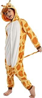 Spooktacular Creations 儿童中性款长颈鹿睡衣连体衣 (M)
