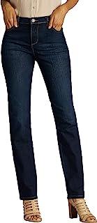 Lee Women's Petite Classic Fit Monroe Straight Leg Jean