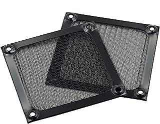 Hxchen 80 x 80 毫米/3.1 x 3.1 英寸风扇保护烤架保护套铝烤架 - (2 件)