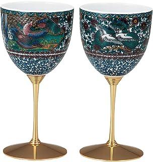 マルヨネ 九谷焼 ペアワインカップ