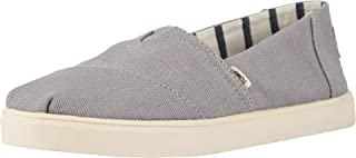 TOMS 女式经典帆布一脚蹬鞋 Morning Dove Heritage Canvas Cupsole 5