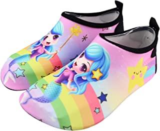 女童男童涉水鞋速干赤脚水鞋沙滩泳池冲浪散步柔软