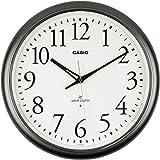 卡西欧 带夜视灯 电波模拟壁挂钟 银色 IQ-1050NJ-8JF