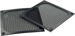 Hxchen 120 x 120 毫米/4.7 x 4.7 英寸风扇防护烧烤盖保护铝烤架 - (2 件)