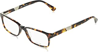 Police 男士 V1831-9XK-53 眼镜架,棕色,53