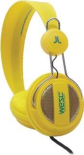 WeSC Oboe OnEar-耳机(包括免提单元和适配器适用于Sony Ericsson & Nokia)黄色