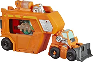 Playskool Heroes 变形金刚救援机器人 Academy 指挥中心楔子 - 可变形动作人偶,带吊坠和发光配件