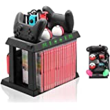 适用于 Nintendo Switch 的充电器底座,适用于开关控制器,Poke Ball Plus 控制器,用于开关游…