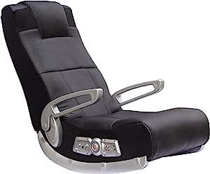 X 摇椅5143601II 视频游戏 Chair ,无线,黑色