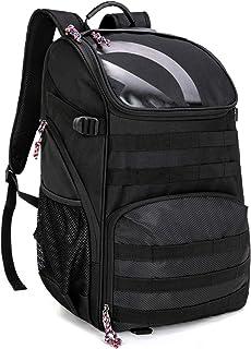 TRAILKICKER 35 升足球背包,带球隔层和额外可连接的洗衣/鞋袋,户外运动背包健身包,适用于篮球、足球、排球和足球。
