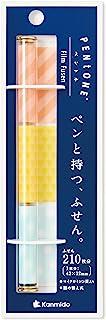 Kanmido 便签 PENTONE 笔杆型便签 轻松 本体サイズ:175x62mm/70枚X3柄、210枚分入り/26g
