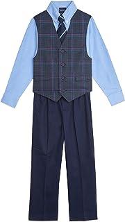 Nautica Boys' Shadow Stripe Vest Set