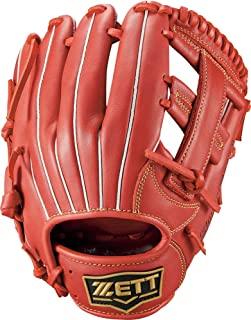 ZETT 少年软式棒球 手套 垒员全能用 右投用 尺寸:L(适合身高140厘米~) 黑色(1900) BJGB74140